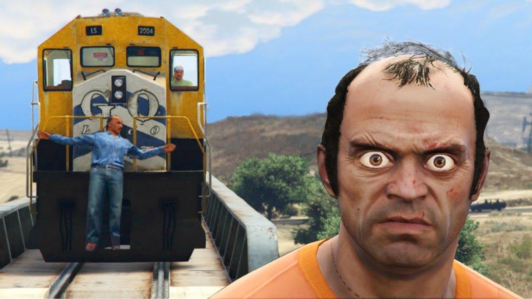 Гифка дня: мгновенная карма вGrand Theft Auto5