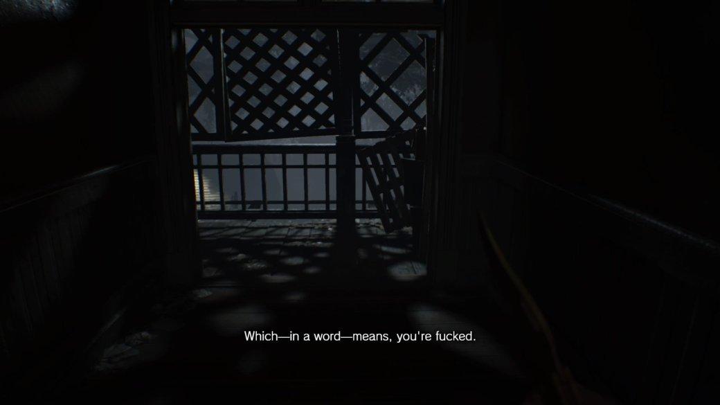 Рецензия на Resident Evil 7: Biohazard