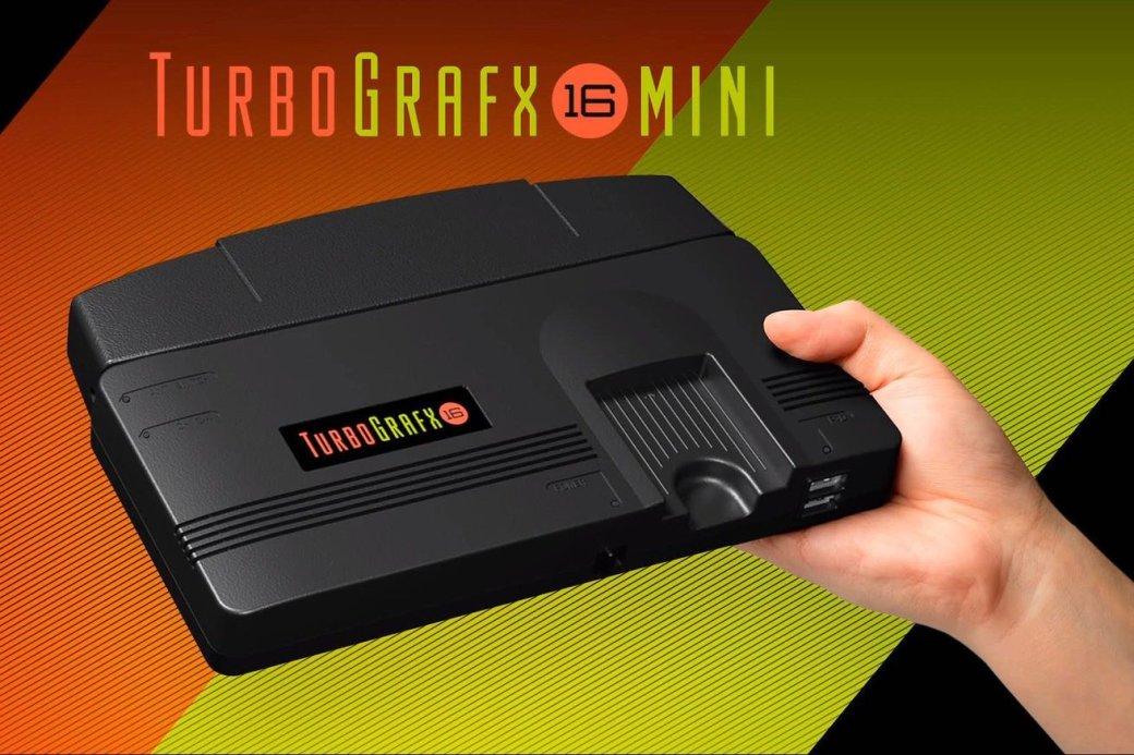TurboGrafx-16Mini: новая ретро-консоль Konami