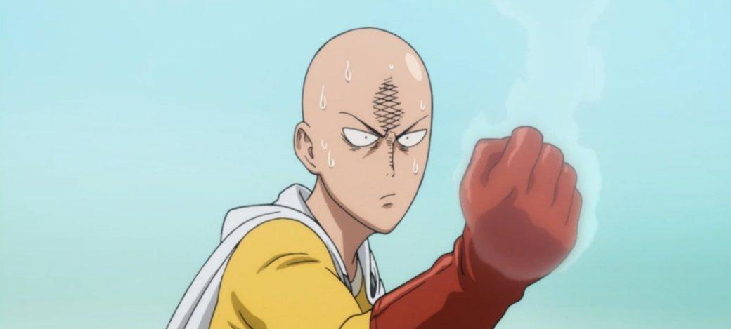 Сайтама возвращается! Взгляните скорее натрейлер второго сезона аниме-сериала One Punch-Man