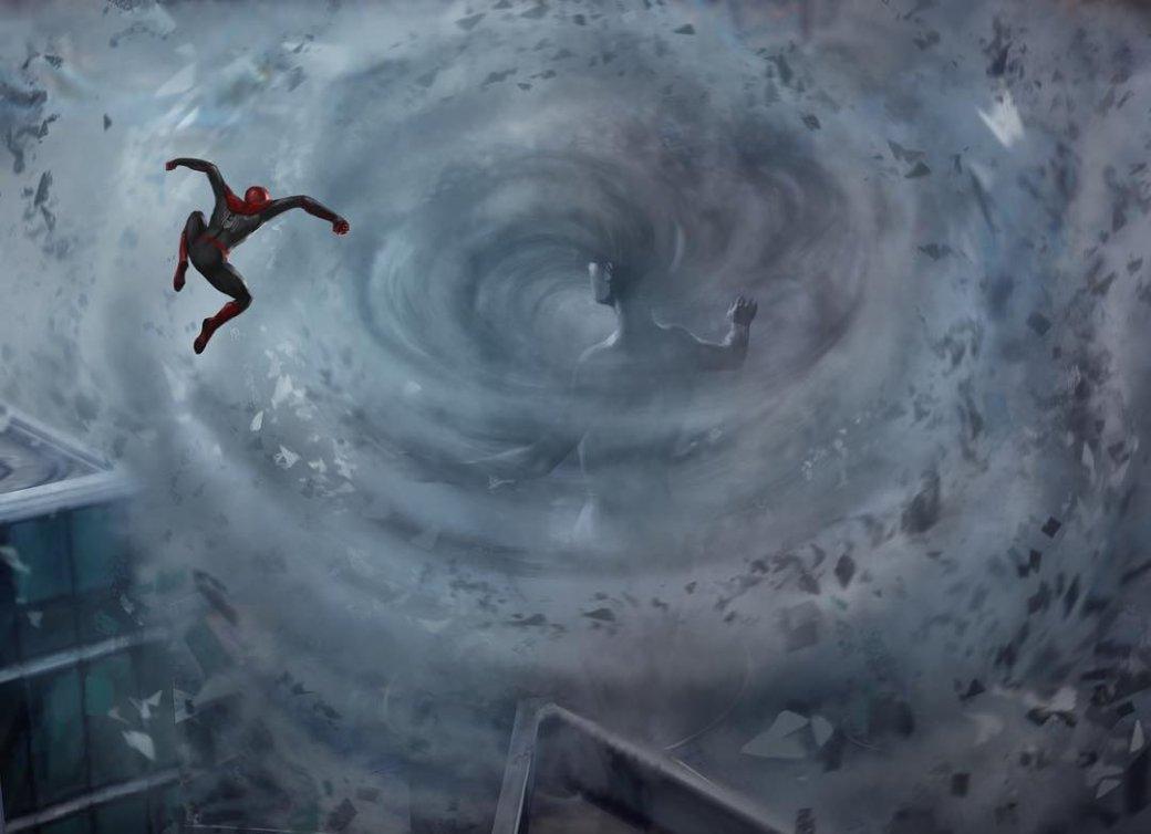 Мертвый Тони Старк, большой комар и другие иллюзии Мистерио на концепт-артах «Вдали от дома»