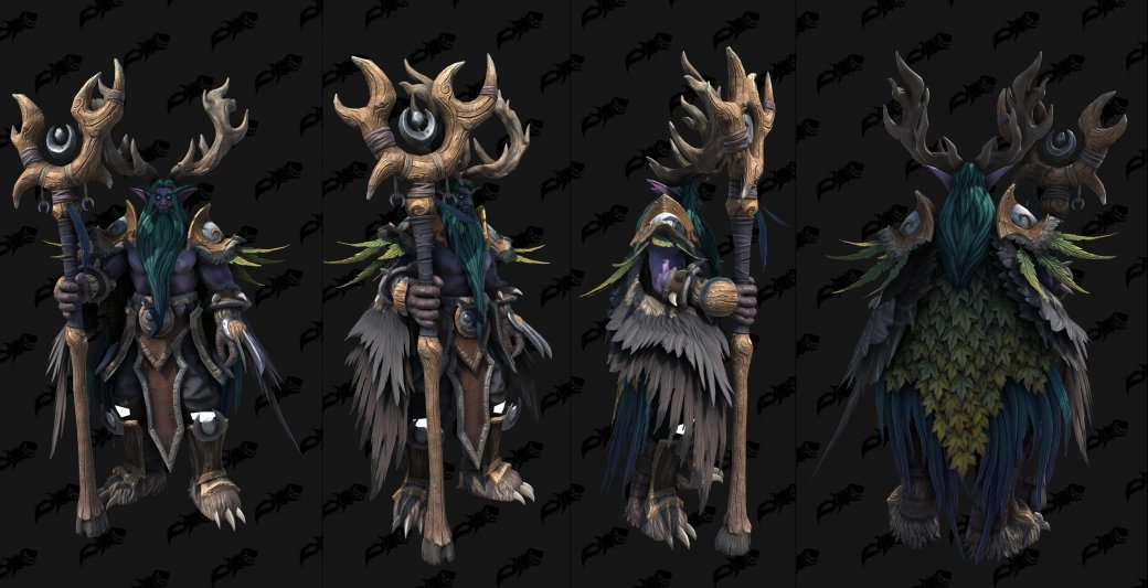 В интернете появились модели Иллидана, Тиранды и других ночных эльфов из Warcraft III: Reforged