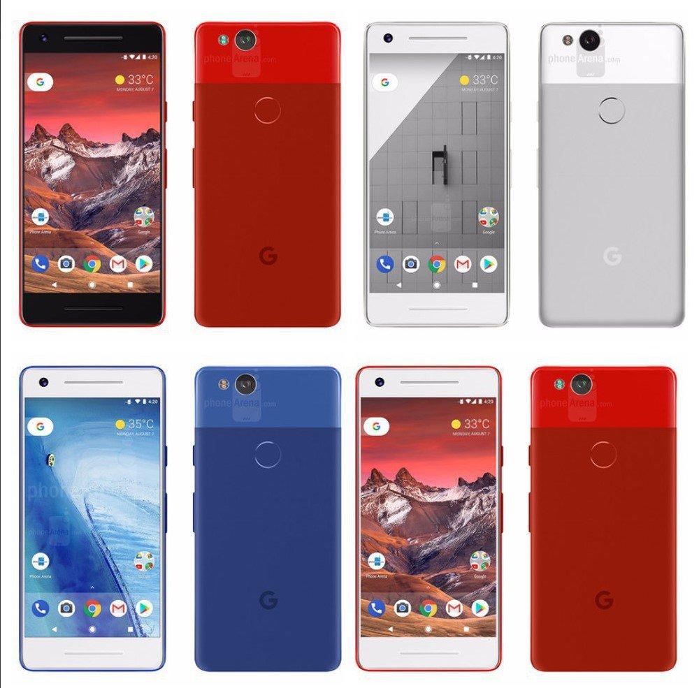 Качественные изображения Google Pixel2. Теперь в«изобильно красном»