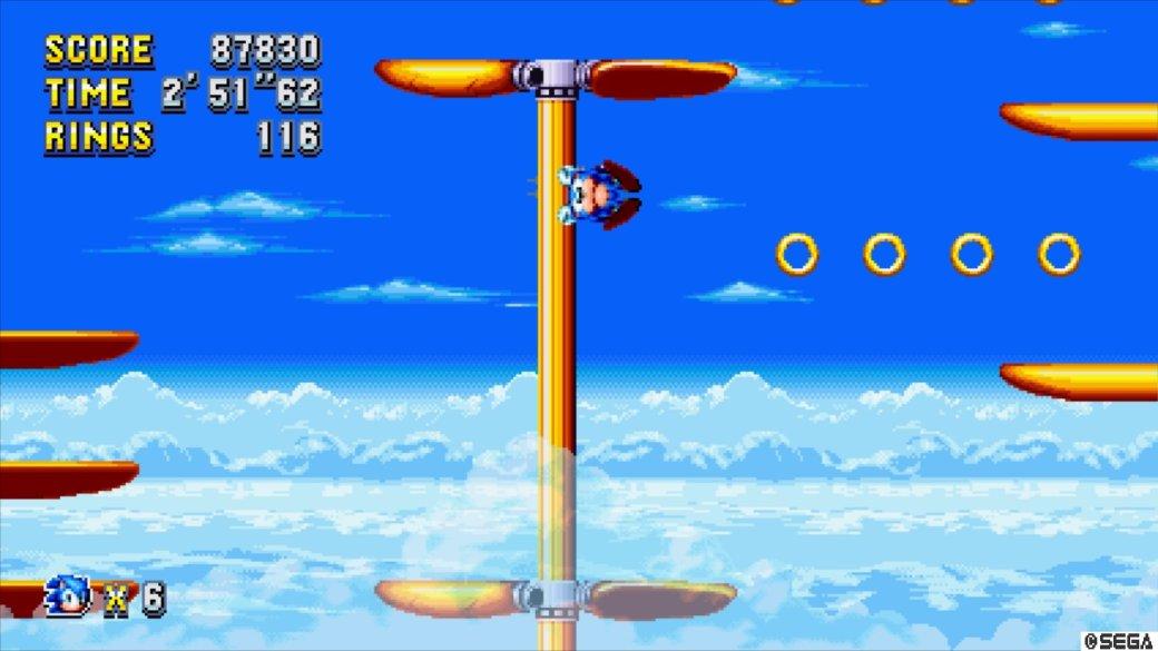 Рецензия на Sonic Mania