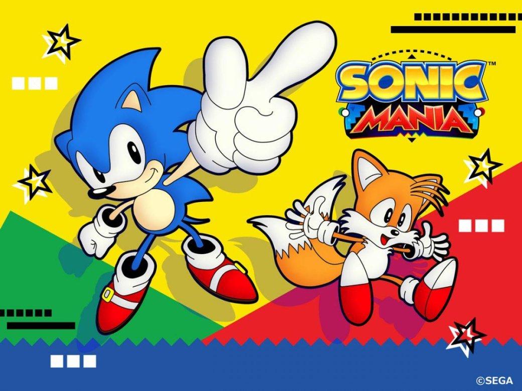 Критики назвали Sonic Mania одной излучших игр этого лета!