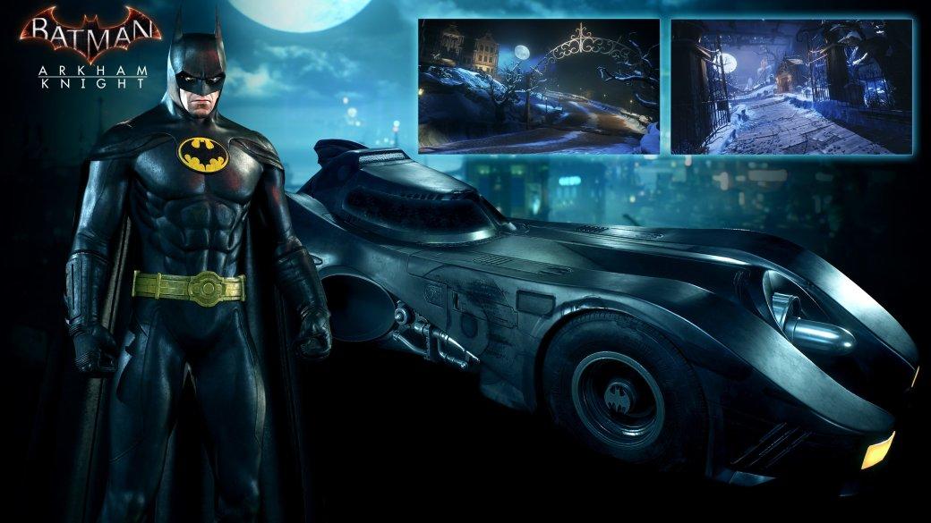 Arkham Knight: новые костюмы и Бэтмобиль в августе