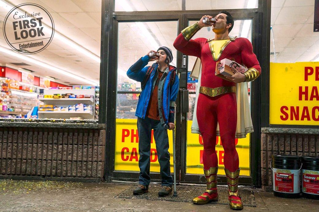 Новости 11июля одной строкой: новый актер сиквела «Оно», первый кадр Shazam, трейлер Extinction