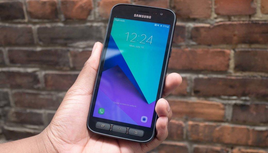 Смартфон Samsung Galaxy Xcover 4sпредставили официально: некрасивый, нозащищенный