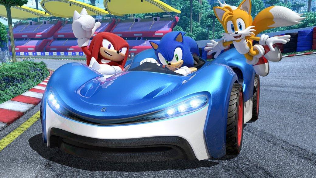 Срелиза прошлой гонки про Соника, Sonic & All-Star Racing Transformed, прошло шесть споловинойлет. Затакое время многие серии успевают заметно вырасти, однако вслучае сTeam Sonic Racing произошло что-то странное: она зачем-то взяла исделала шаг назад.