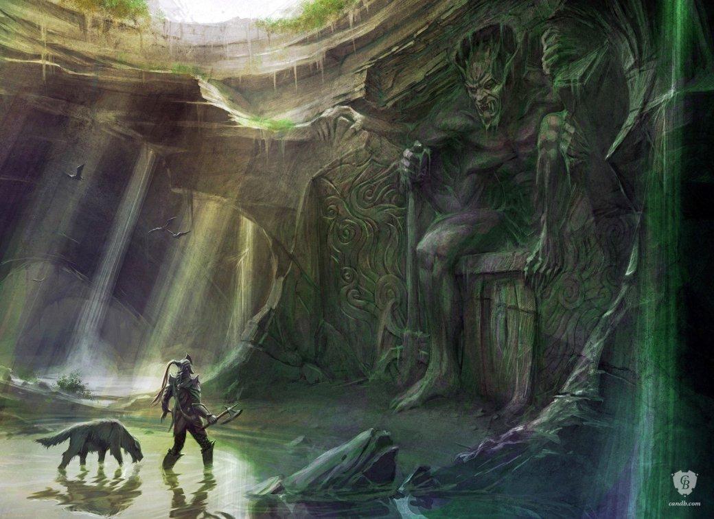 Посмотрите напотрясающе красивые, нодорогие картины поTES V: Skyrim