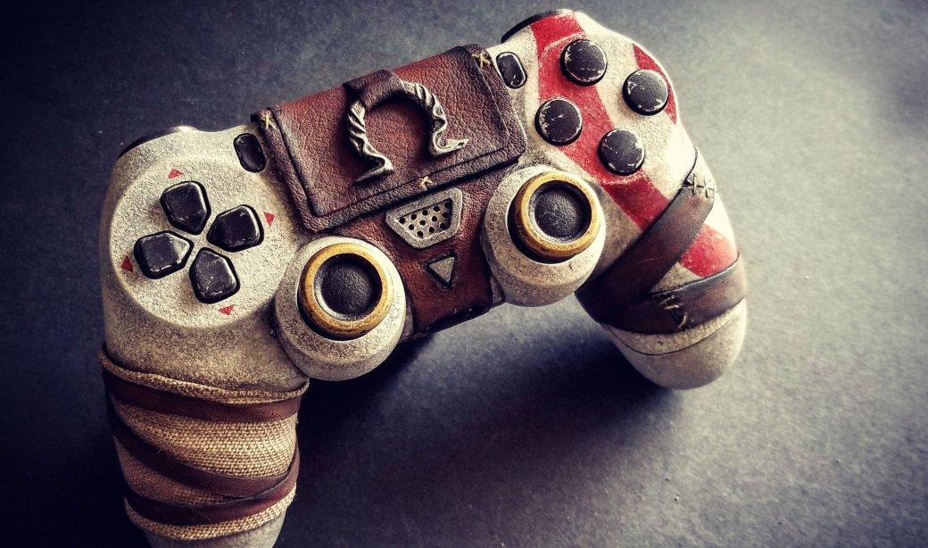 Взгляните напотрясающий DualShock 4 встиле новой God ofWar