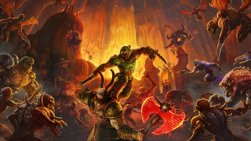 Doom Eternal— прямое продолжение перезапуска Doom 2016 года. Несмотря нато, что цифры 2 вназвании новой игры нет, ееименно что второй частью иследует называть— настолько много вней изменений. Отом, чего ждать отEternal,— ниже потексту.