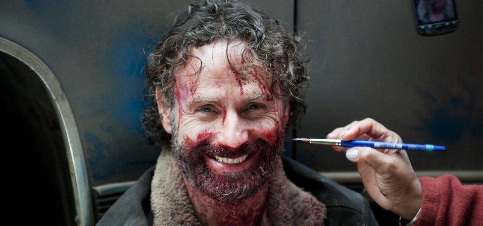 Рик Граймс теперь навтором месте поколичеству появлений в«Ходячих мертвецах»