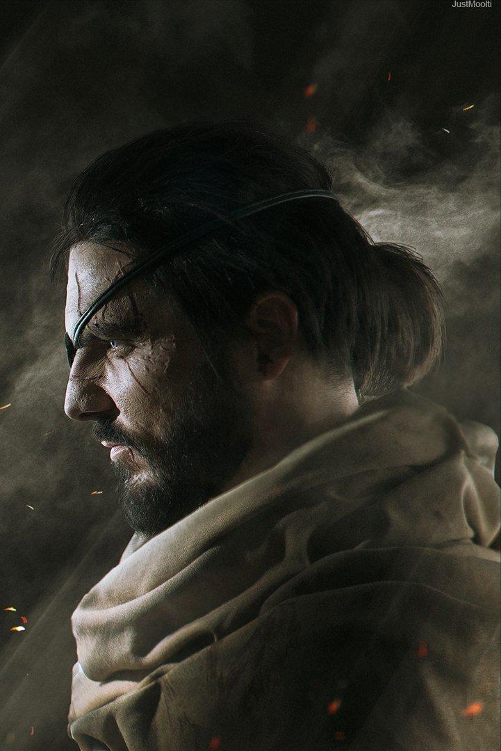 Косплей дня: Биг Босс Веном Снейк из Metal Gear Solid 5: Phantom Pain