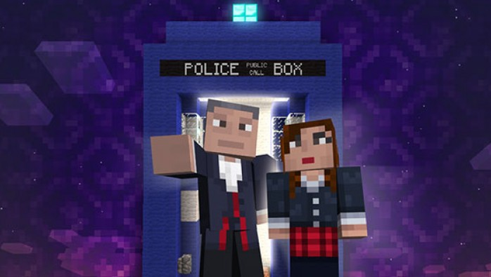 Доктор Кто прилетит в Minecraft для Xbox 360