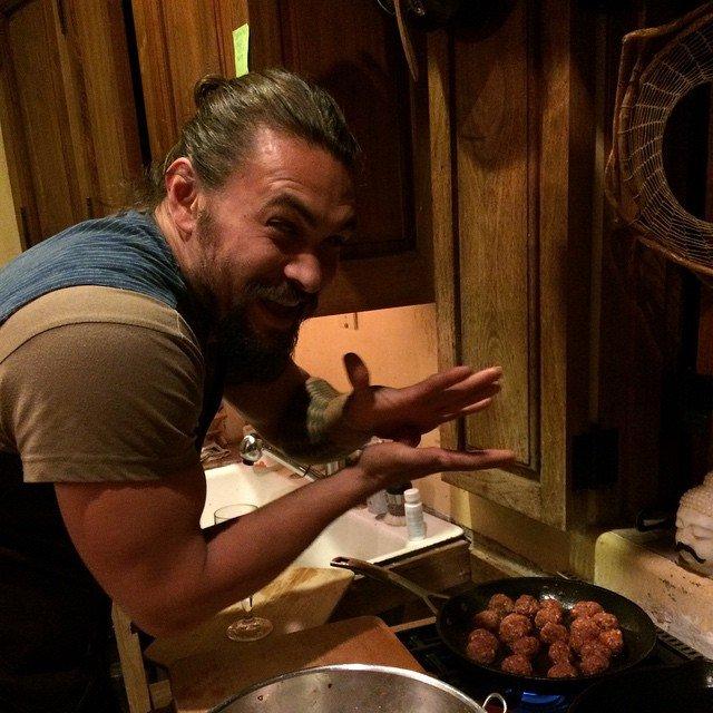 Джейсон Момоа влюбится в свою еду