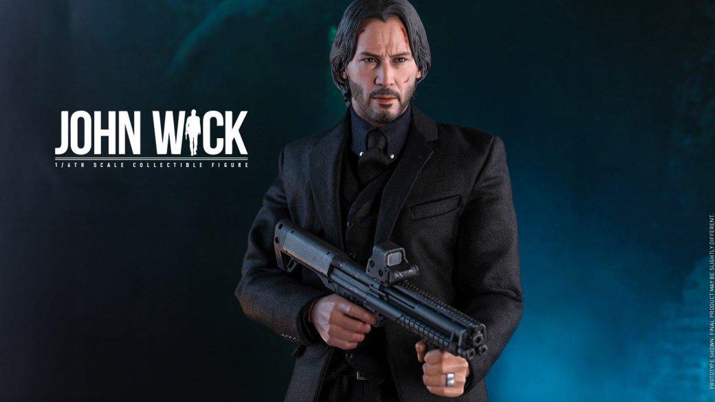 У этой невероятно крутой фигурки Джона Уика огромный арсенал оружия!