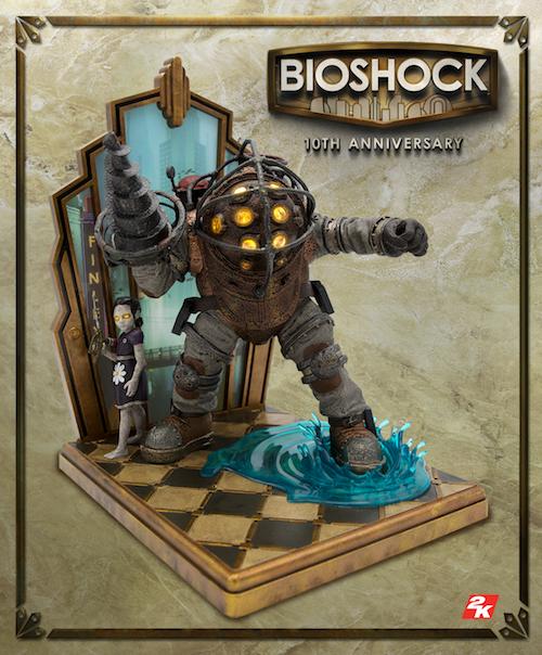BioShock получит коллекционку сБольшим Папочкой к10-летию игры