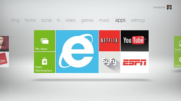 Веб-браузер Internet Explorer появится в Xbox 360