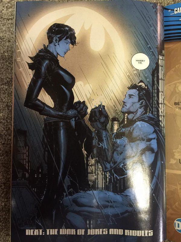 Спойлеры: Бэтмен женится, и вы не поверите на ком!