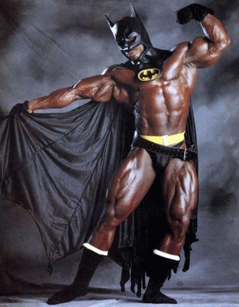 Обсуждение. Готовыли выктемнокожему Бэтмену?