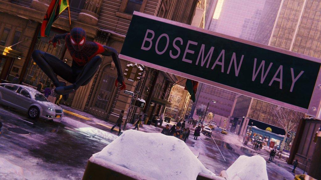 В Spider-Man: Miles Morales нашли улицу, посвященную Чедвику Боузману