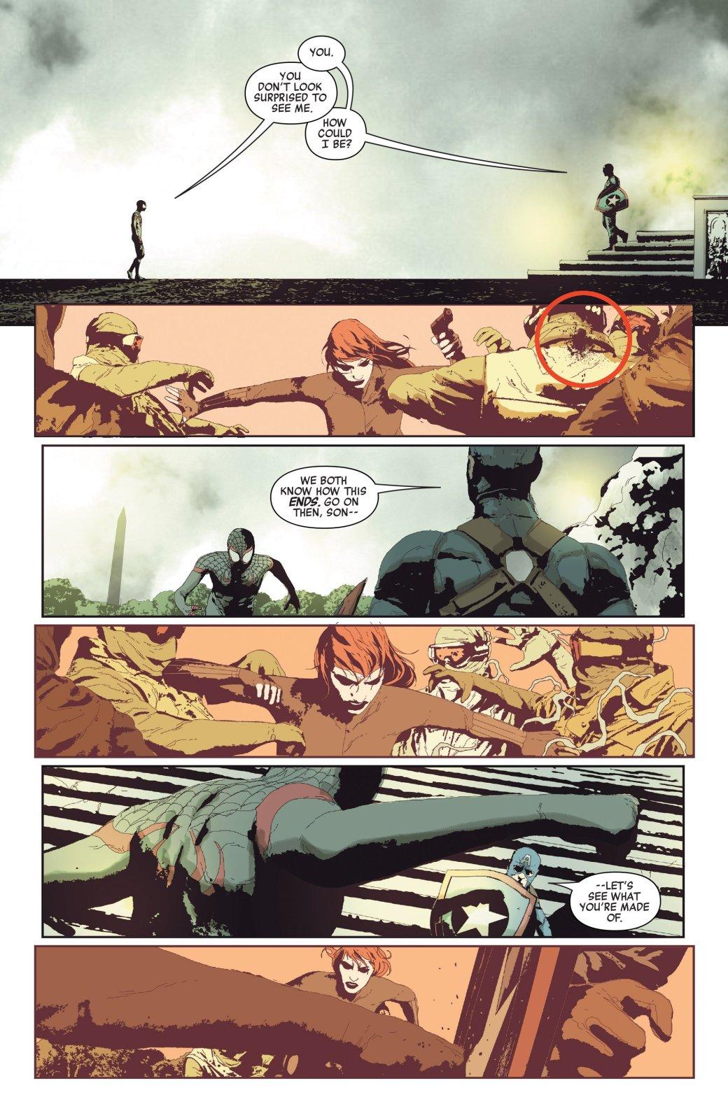 Покушение наКапитана Америка закончилось гибелью другого Мстителя