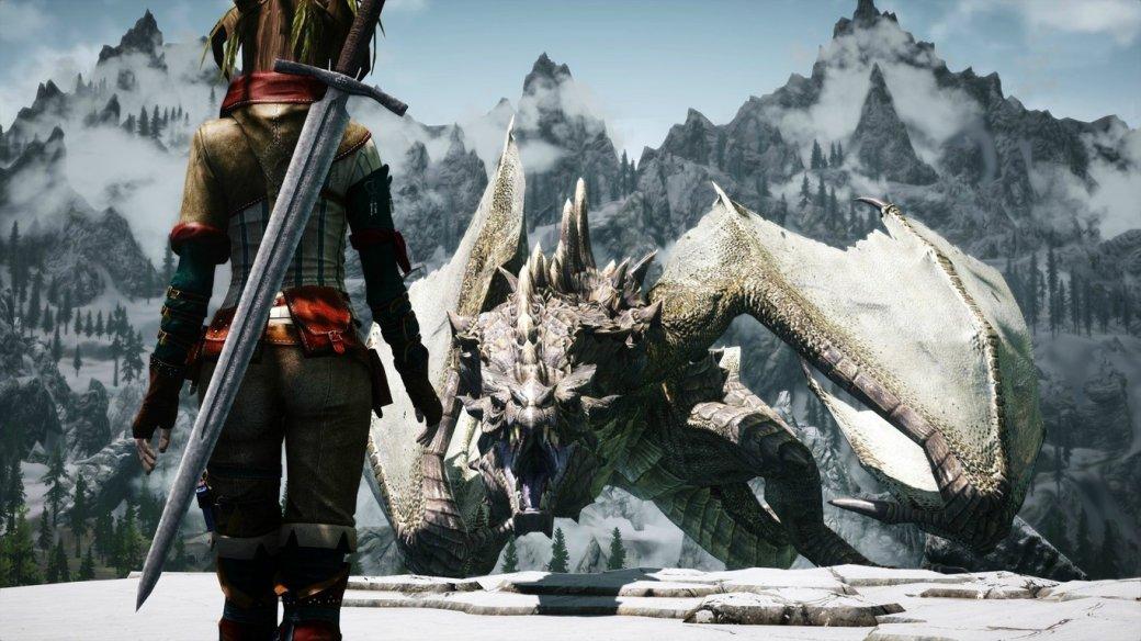 Гифка дня: бесконечно длинный меч вThe Elder Scrolls 5: Skyrim