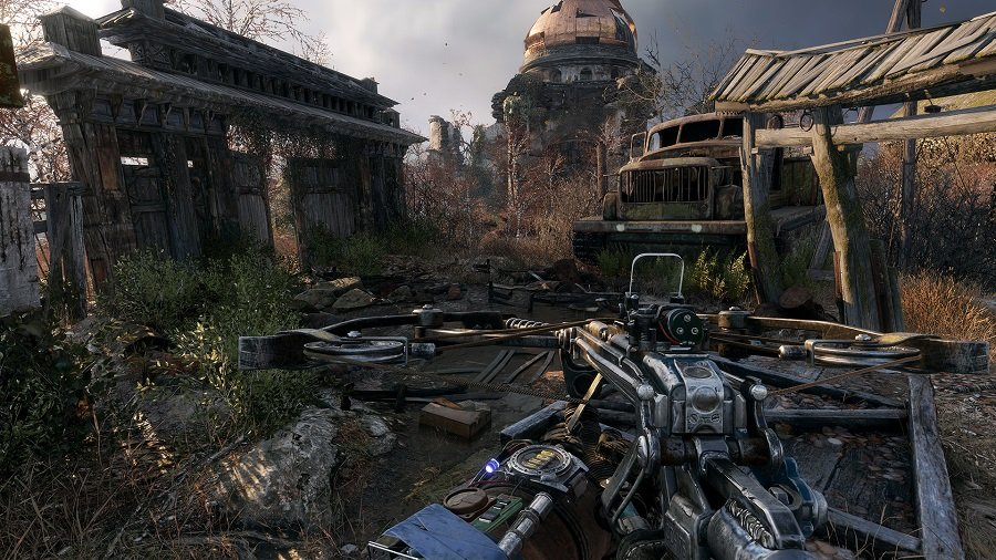 Посмотрите новый геймплей Metro Exodus на гигантской пустынной локации!