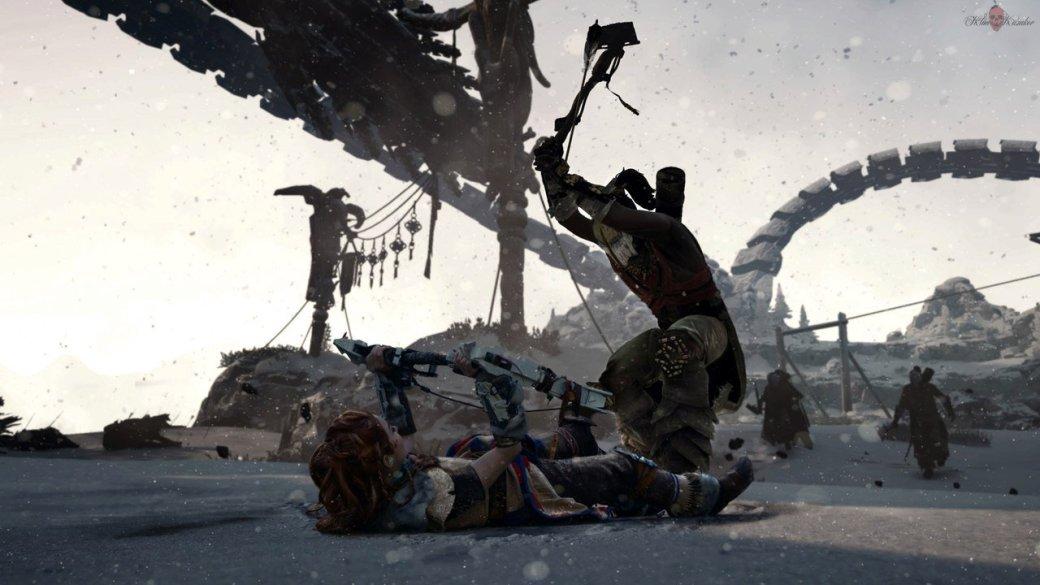 Косплей дня: охотница на рободинозавров Элой из Horizon: Zero Dawn