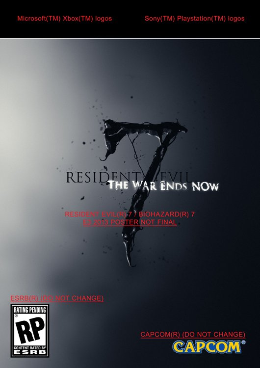 Resident Evil 7 возможно покажут на E3