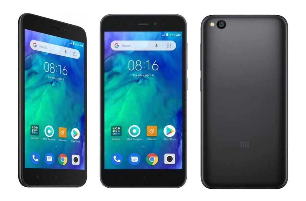 Анонс Xiaomi RedmiGo: первый Android Go-смартфон Xiaomi поцене 80евро