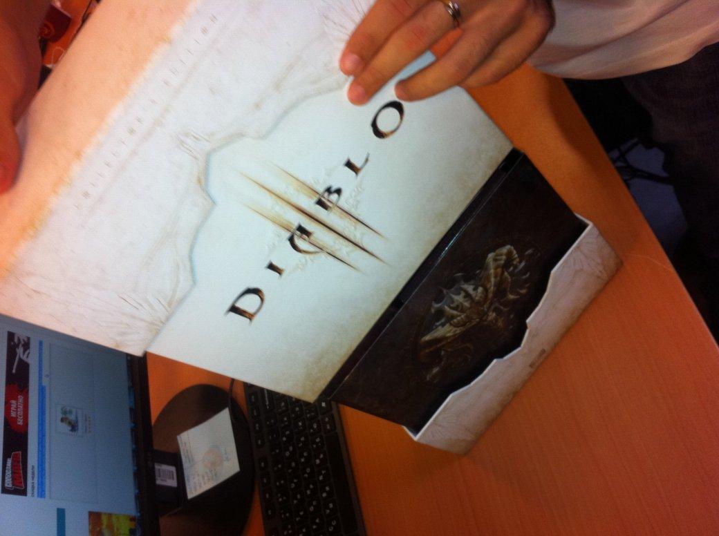 Анбоксинг коллекционной версии Diablo 3