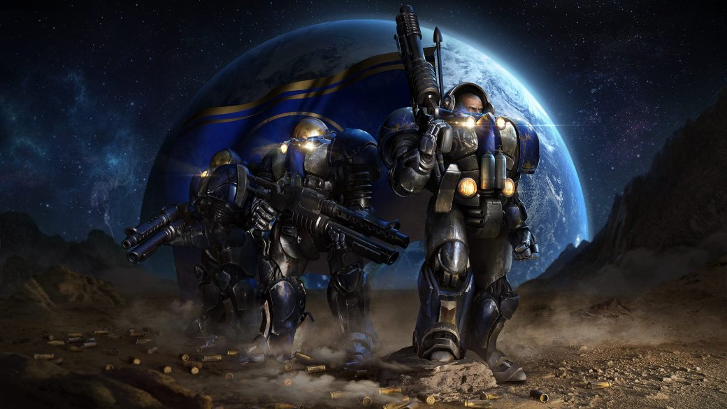 Смомента релиза оригинального StarCraft прошло больше девятнадцати лет, иигра действительно может отпугнуть своим внешним видом— чтобы вам там неговорила ваша ностальгия. Особенно хорошо это видно, если сравнивать оригинал иремастер— это просто небо иземля. Убедитесь сами!