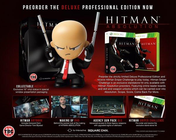 Анонсирована коллекционная версия Hitman: Absolution