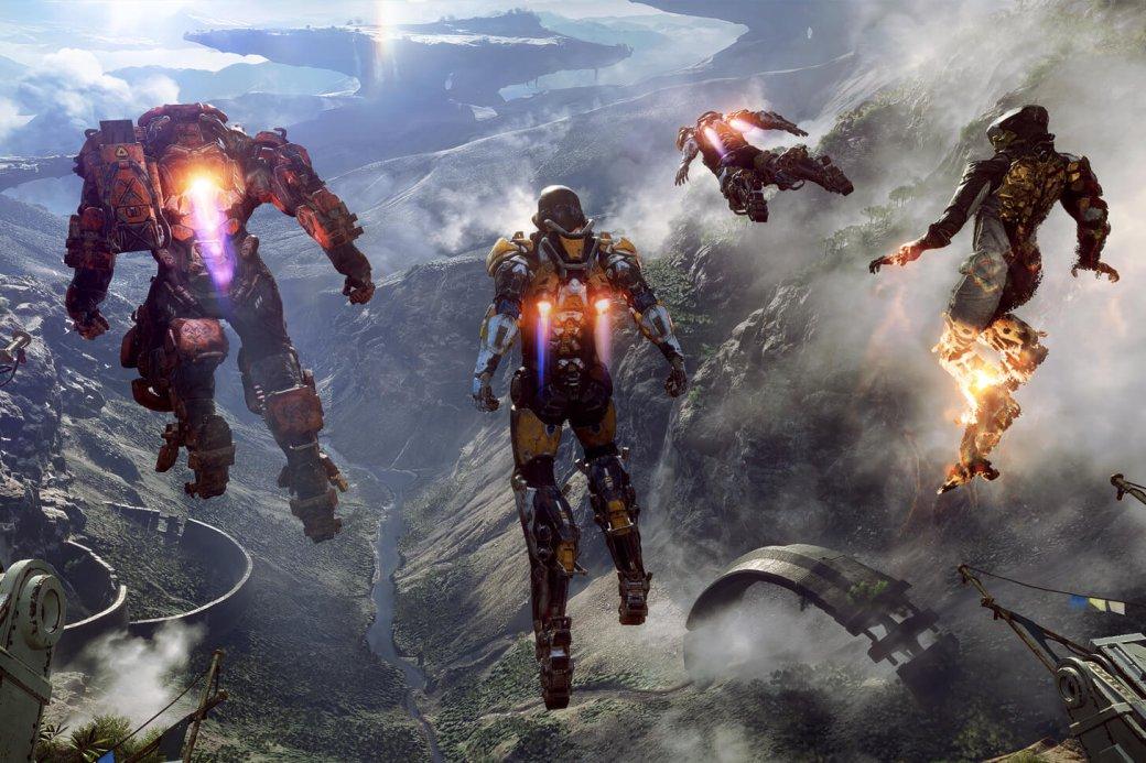 Anthem c шоу Xbox на E3 2017 выйдет только через год с лишним