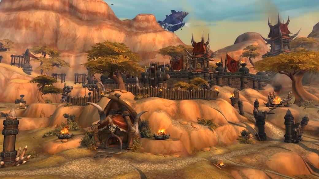 Blizzard обновила Низину Арати и Ущелье песни войны в Battle for Azeroth. Но пока только на PTR