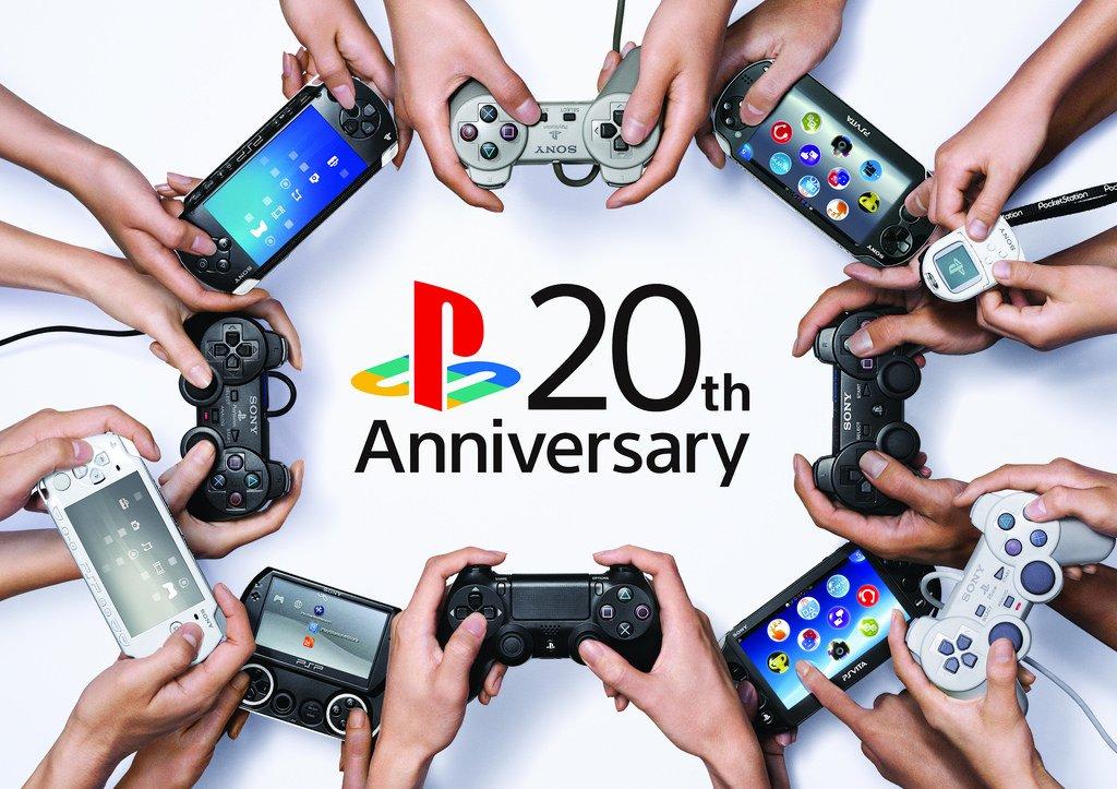 PlayStation исполнилось 20 лет