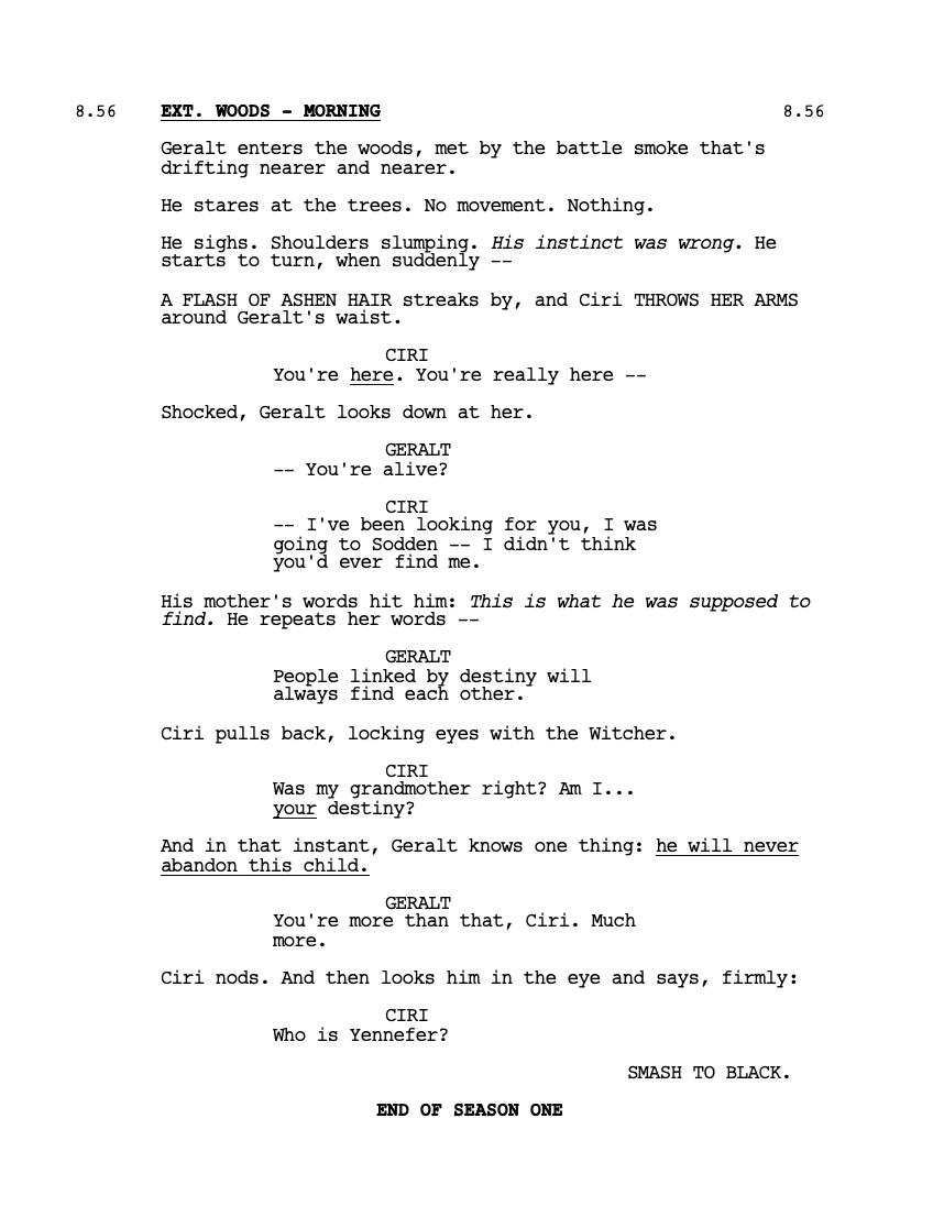 Шоураннер «Ведьмака» объяснила, почему знакомство Геральта и Цири в сериале отличается от книг