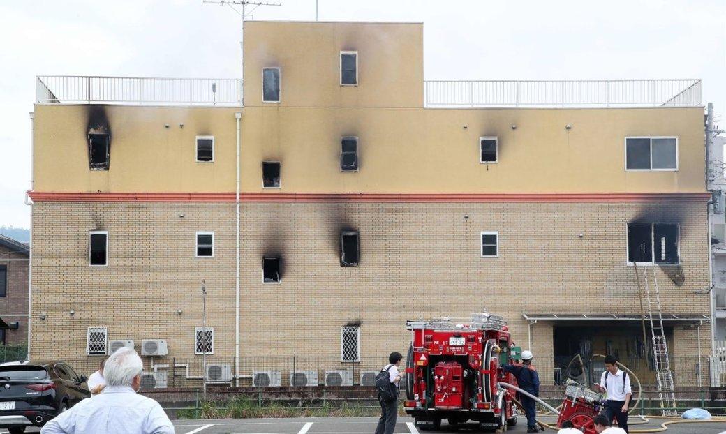 Ваниме-студии Kyoto Animation случился пожар. Есть погибшие [обновлено: виновный объяснил мотив]