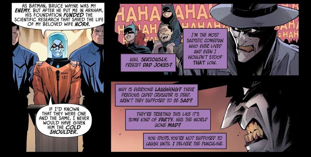 Мертвый Бэтмен изамена Харли. Лучшие ихудшие истории изюбилейного выпуска про Джокера