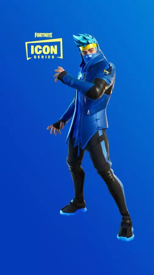 Популярный стример Ninja получил свой скин вFortnite