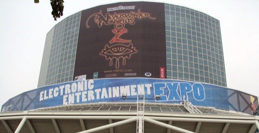 Как менялась E3. Фотографии