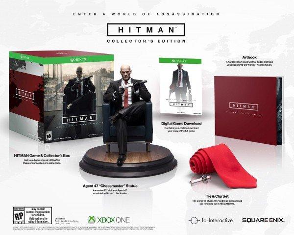 Hitman стала эпизодической игрой, стоит от $15 до $140