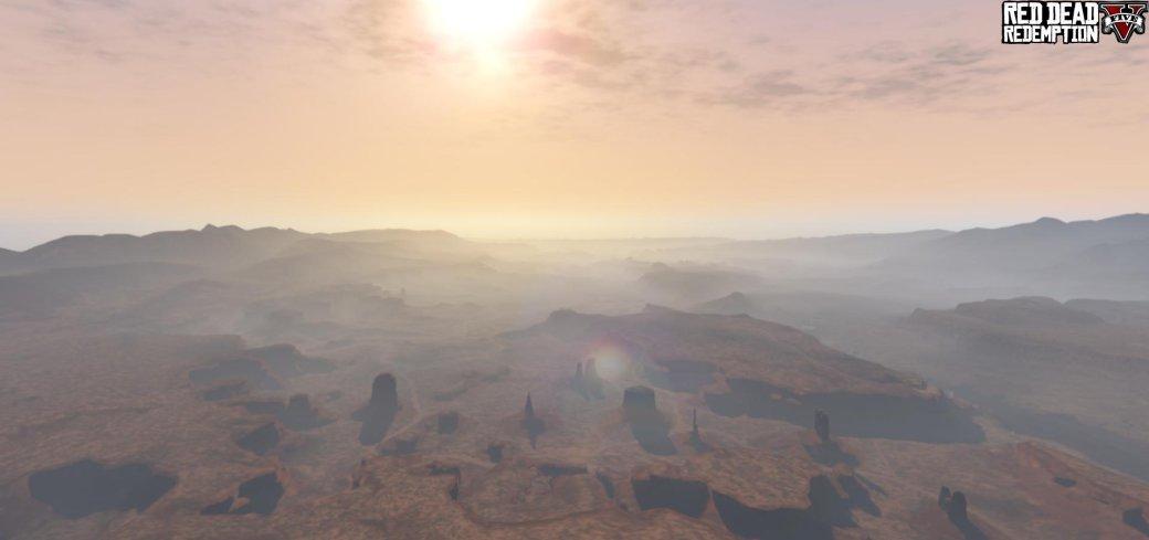Моддеры перенесут карту Red Dead Redemption в GTA 5