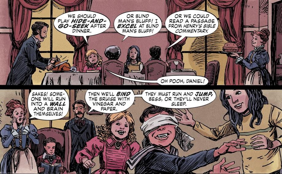 Мнение окомиксе The Dollhouse family. Неровный хоррор отавтора «Люцифера»