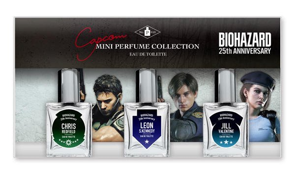 Capcom выпустил персональные парфюмы героев из Resident Evil