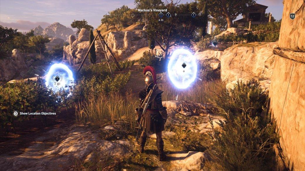 В Assassin's Creed Odyssey теперь есть квесты, которые проходятся моментально
