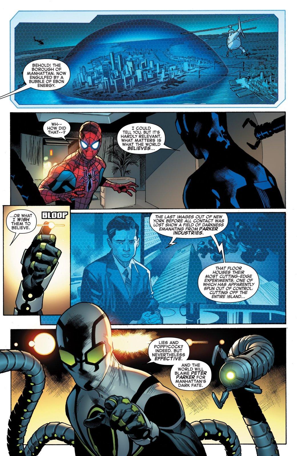 Secret Empire: Гидра обвинила Питера Паркера вкатастрофе вНью-Йорке