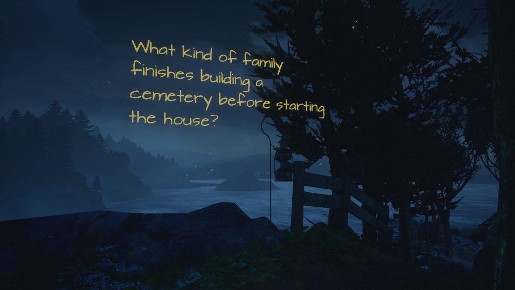 Рецензия на What Remains of Edith Finch